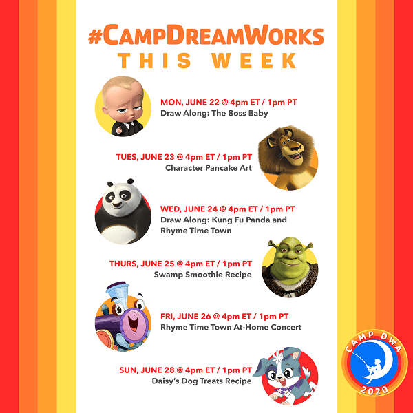 Camp DreamWorks Week 1