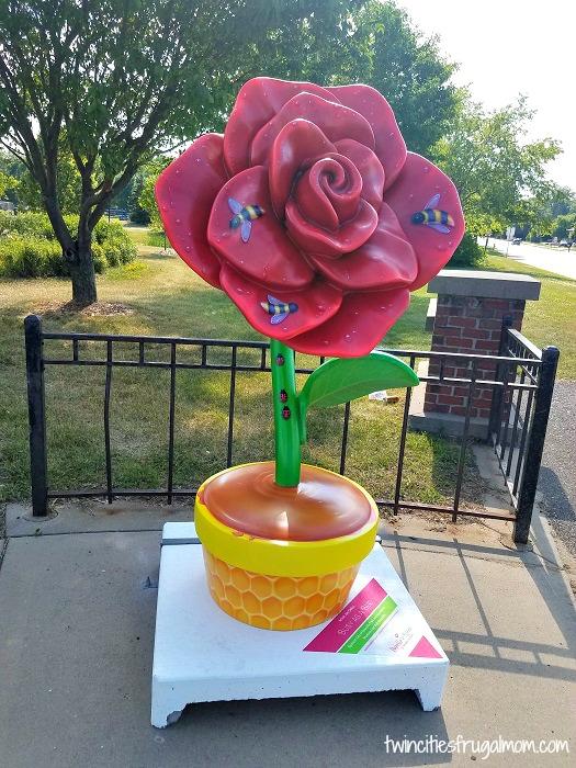 Roseville in Bloom - Bee