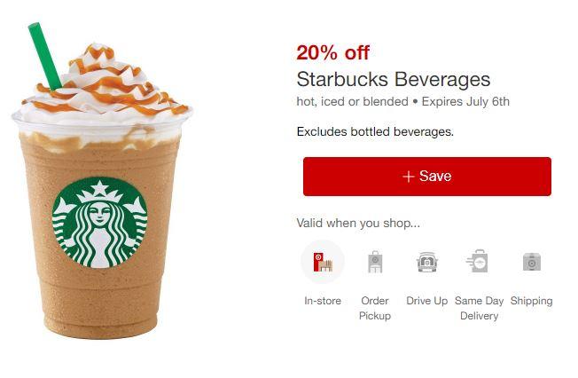 Starbucks Target deal