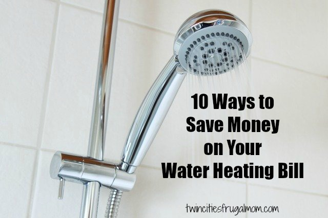 10 ways save money water heating