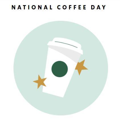 Starbucks National Coffee Day 2020