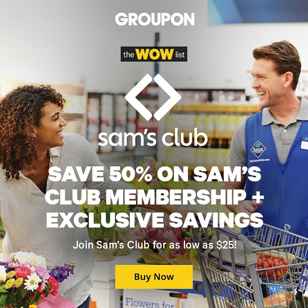 Sam's Club 25 Deal