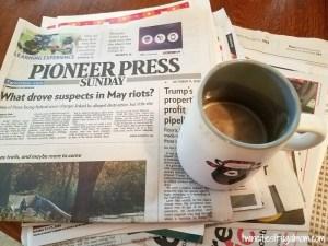 Pioneer Press coffee