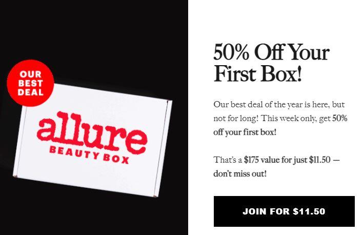 Allure 50% Off