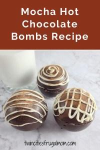 Mocha Hot Chocolate Bombs Recipe