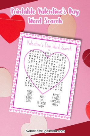 TCFM Valentine's Day Word Search