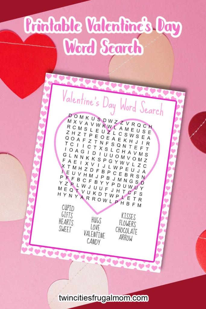 TCFM Valentine's Day Word Search