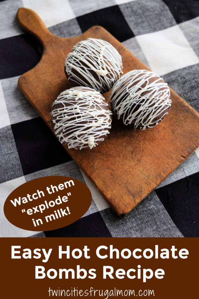 Easy Hot Chocolate Bombs Recipe