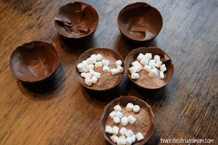 Hot Chocolate Bombs Filled