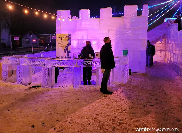 Stillwater Ice Palace Maze Ice Bar