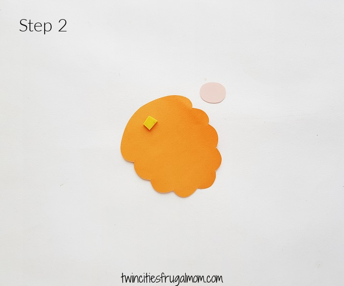 Leprechaun Gnome Paper Craft Step 2