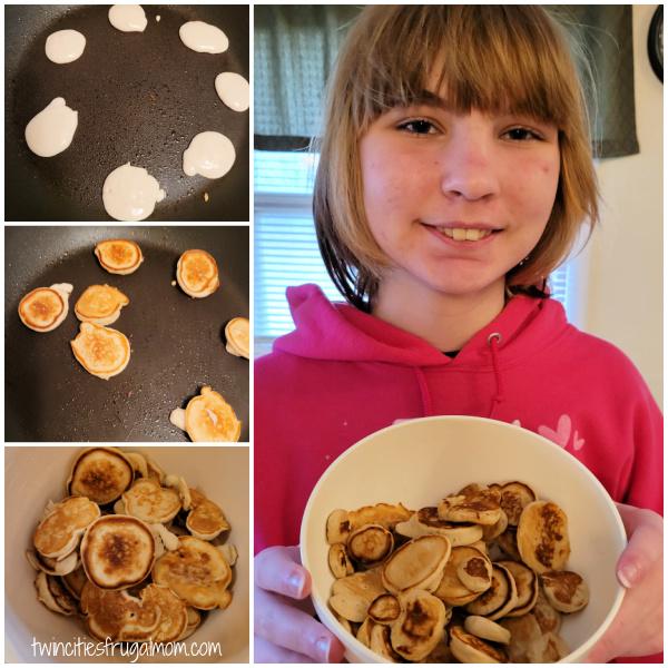 Pancake Cereal recipe