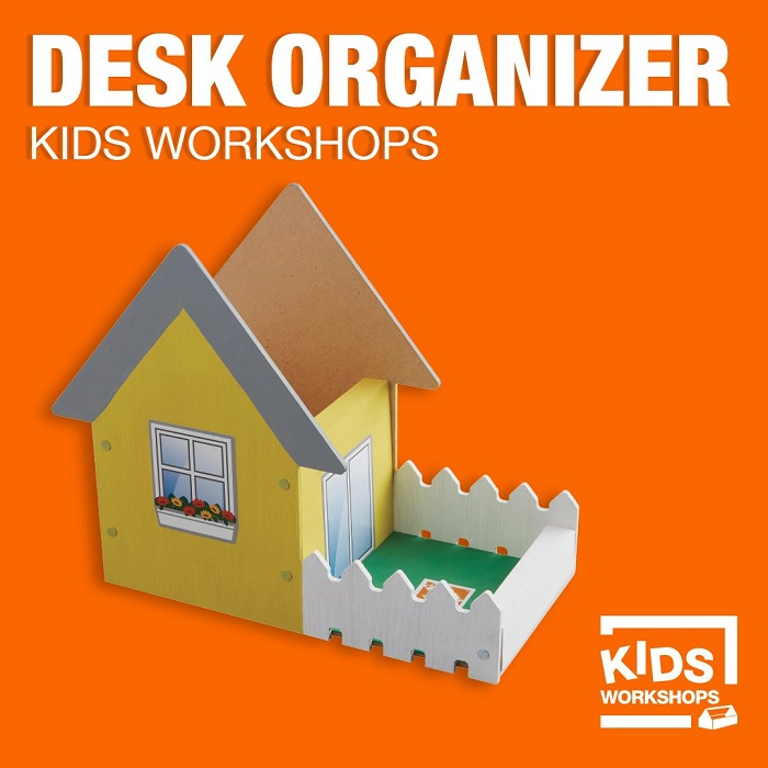 Home Depot May Desk Organizer