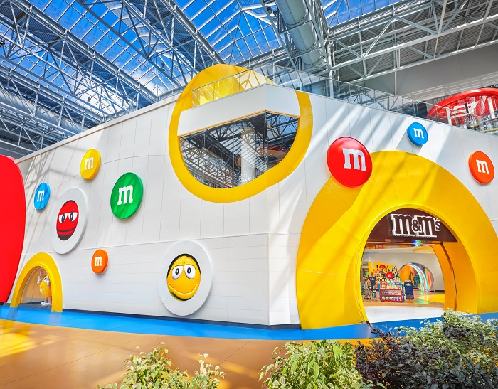 Mall of America M&M Store
