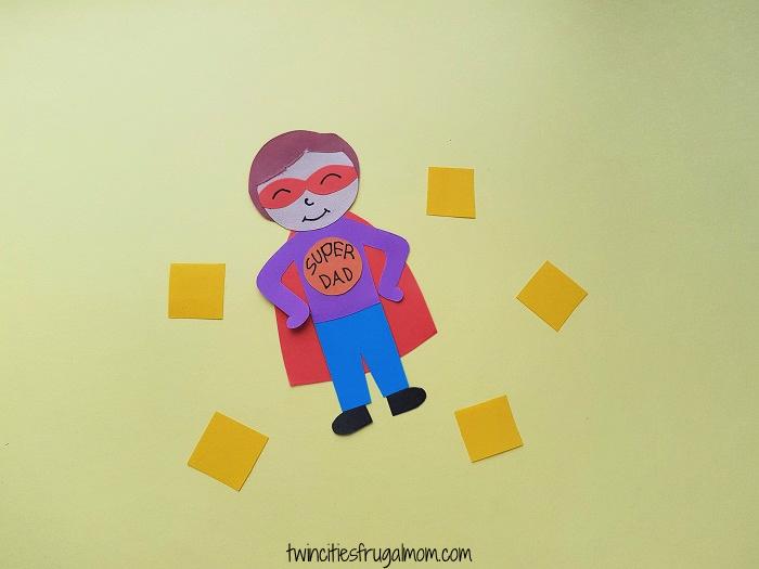 Super Dad Paper Craft