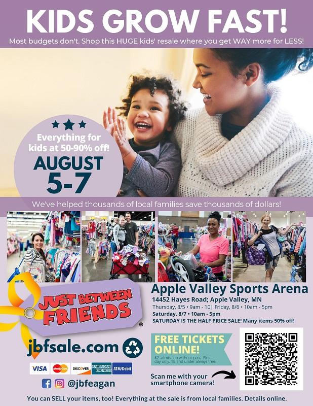 JBF Eagan August 2021 Flyer