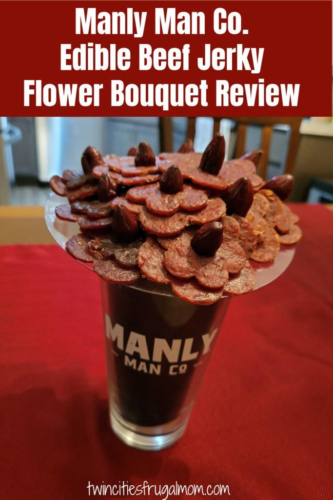 Manly Man Beef Jerky Flower Bouquet