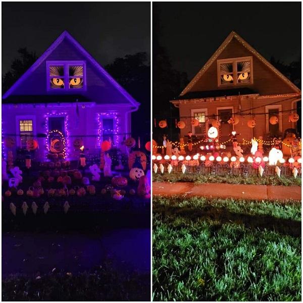Schultz Halloween Lights