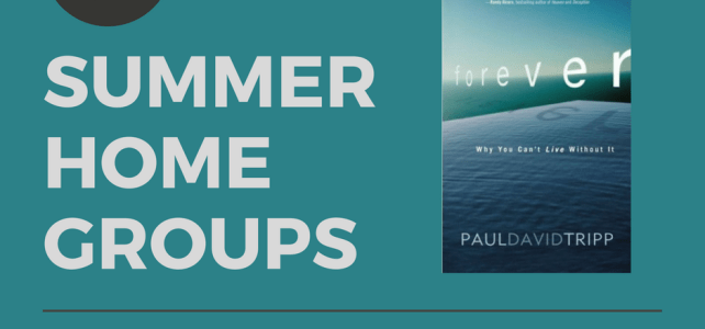 "2017 Summer Home Groups: Paul Tripp's ""Forever"""