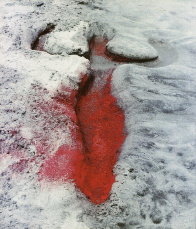 Ana Mendieta, Untitled (Silueta Series, Mexico), 1976