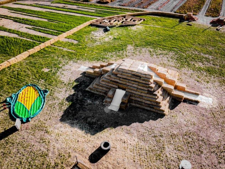 Twin Falls Corn Maze Straw Slide