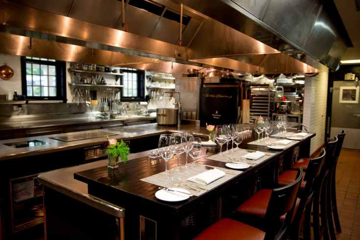 chef's table | twin farms