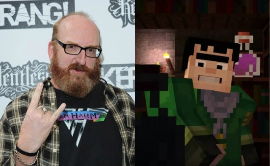 Minecraft: Story Mode - Axel voice actor