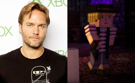 Minecraft: Story Mode - Lukas voice actor