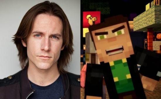 Minecraft: Story Mode - Aiden voice actor