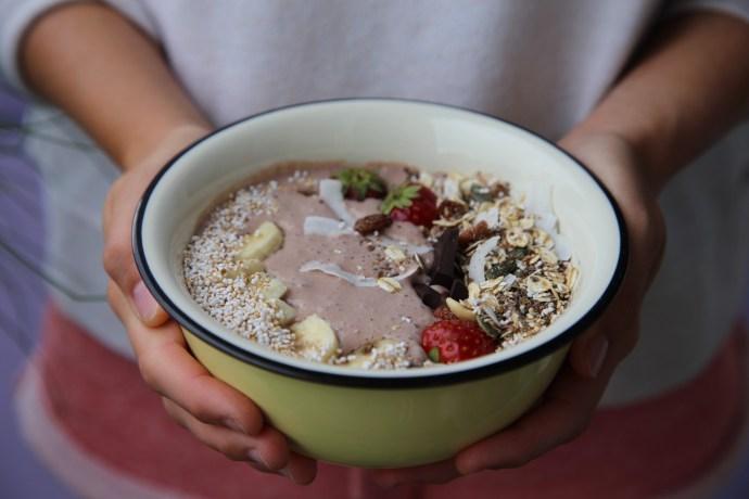 Low Carb Frühstück - griechischer Joghurt Schoko