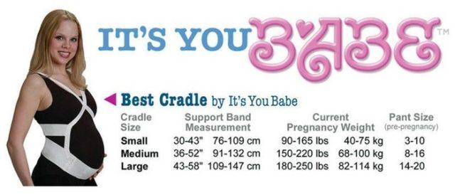 It's You Babe Best Cradle Measurements