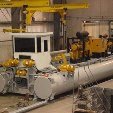 Pre-shipment final assembly