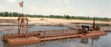 """10"""" dredge with Linear Cutter"""