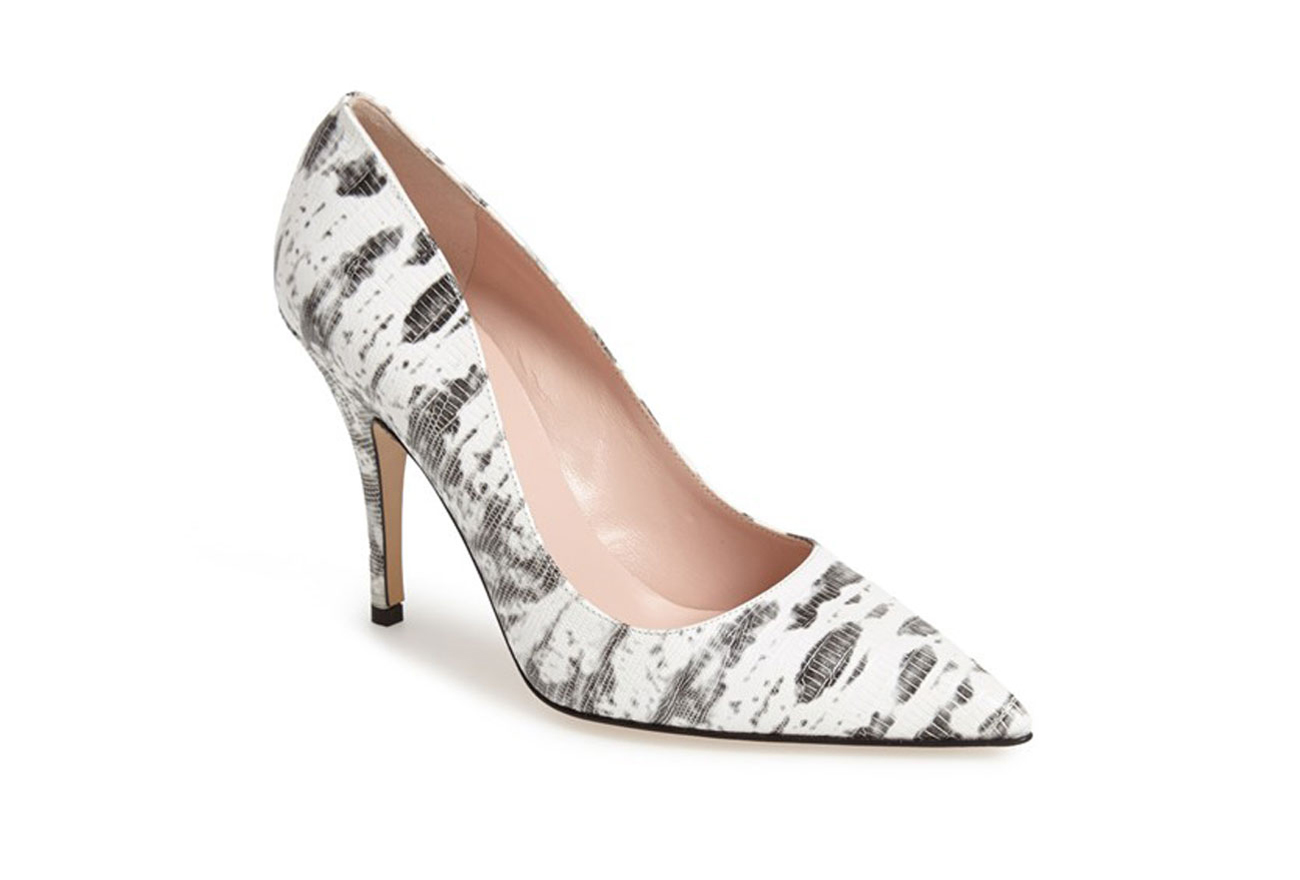 Kate Spade Snake Shoes Pink Heel