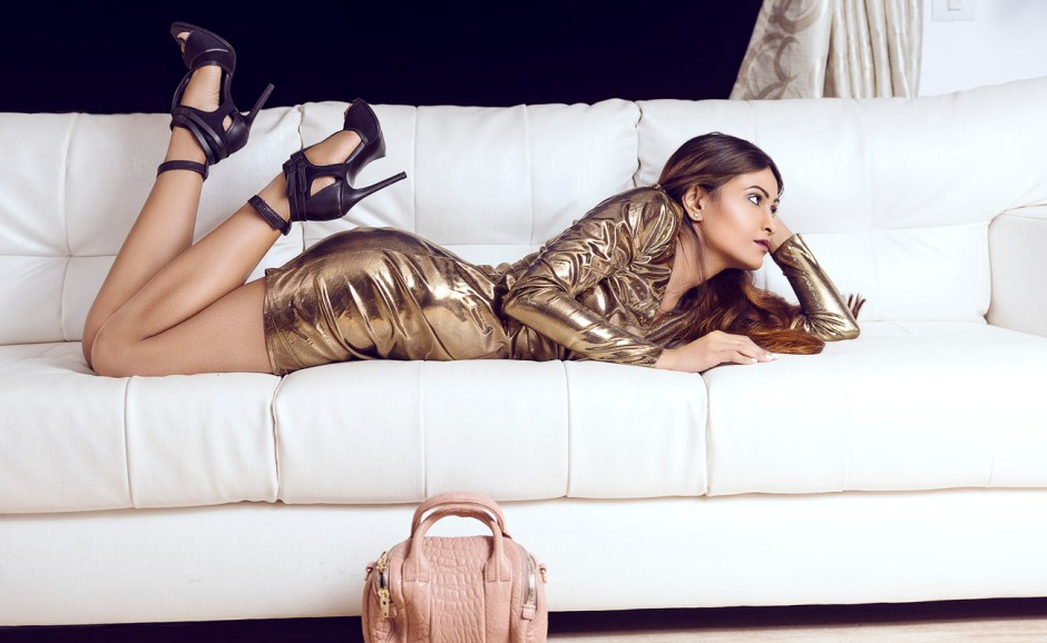 metallic-dress-lover