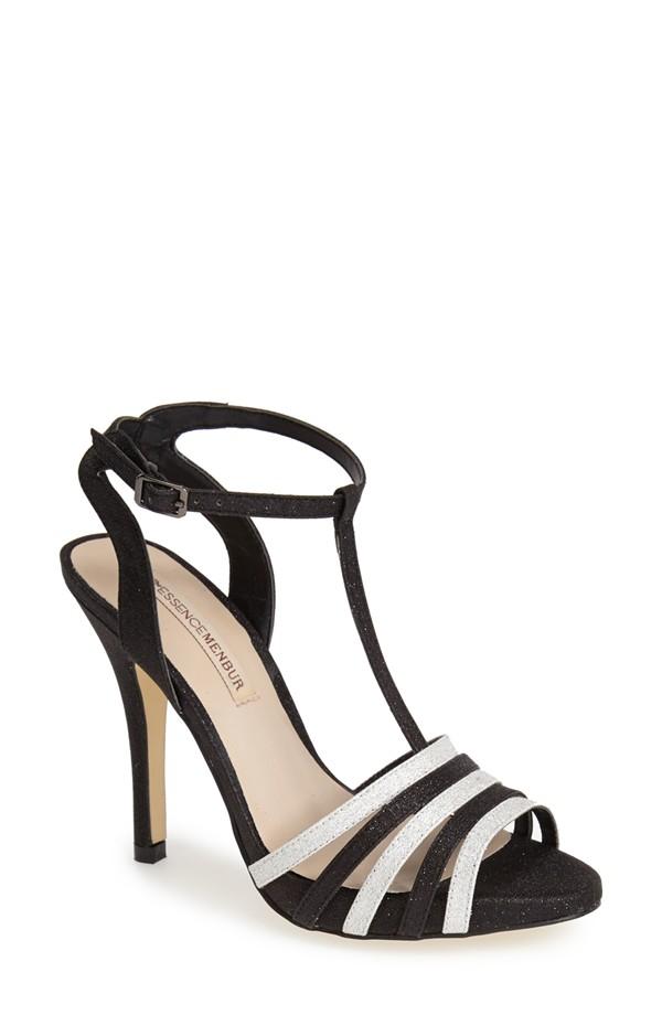monochrome-fashion-Menbur-Priego-Glitter-Sandal