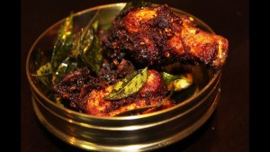 Nadan Kozhi Varuthathu (Spicy Chicken Fry)