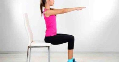 Chair Cardio Exercises