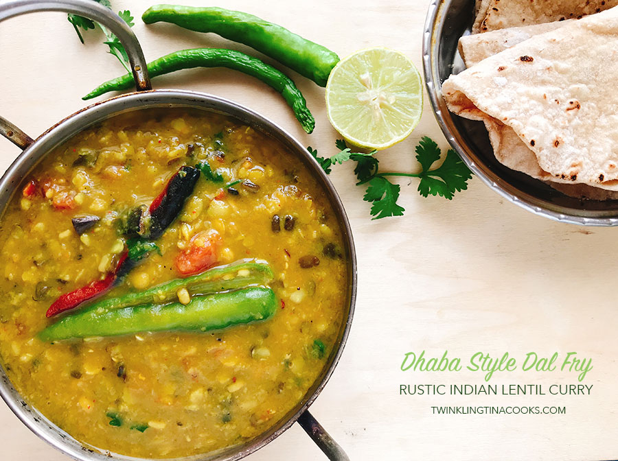 dhaba style dal fry recipe
