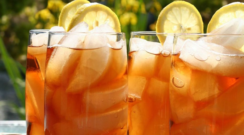 foods high in sugar to avoid iced tea