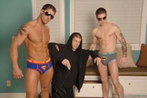 Superhero action with Cody Cummings and Vance Crawford (CodyCummings.com)