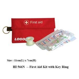 HI 566N First Aid Kit with Key Ring 1 - HI 566N -- First Aid Kit with Key Ring