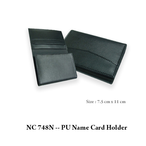 NC 748N — PU Name Card Holder