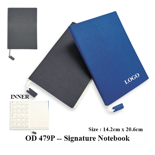OD 479P — Signature Notebook