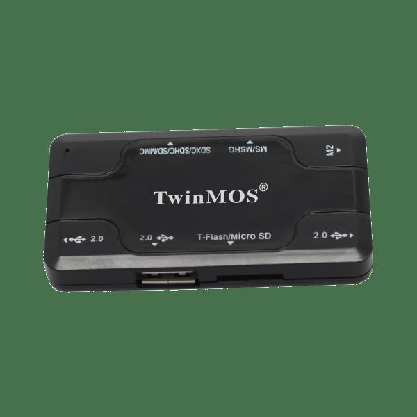 TwinMOS Combo Gadget- USB+CRW- CGUHCRW-A