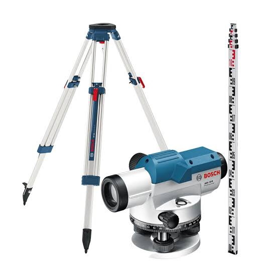 BOSCH AUTO LEVEL with TRIPOD & LAVELING ROD (GOL32D-BT160-GR500) – Twins Hardware