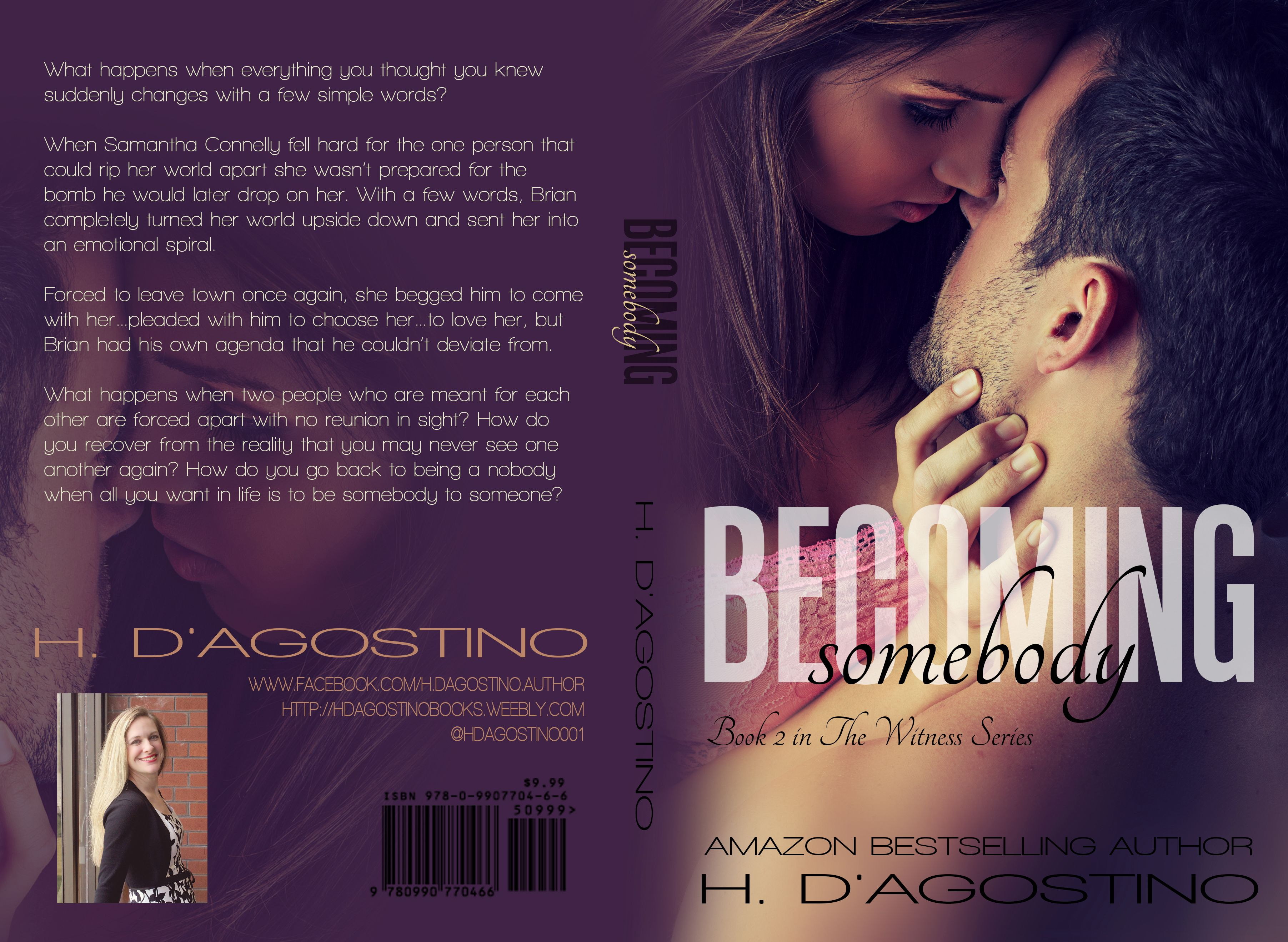 Heather D'Agostino - Becoming Somebody final cover