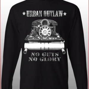 Magnus Walker Urban Outlaw 'No Guts No Glory' Long Sleeves-0