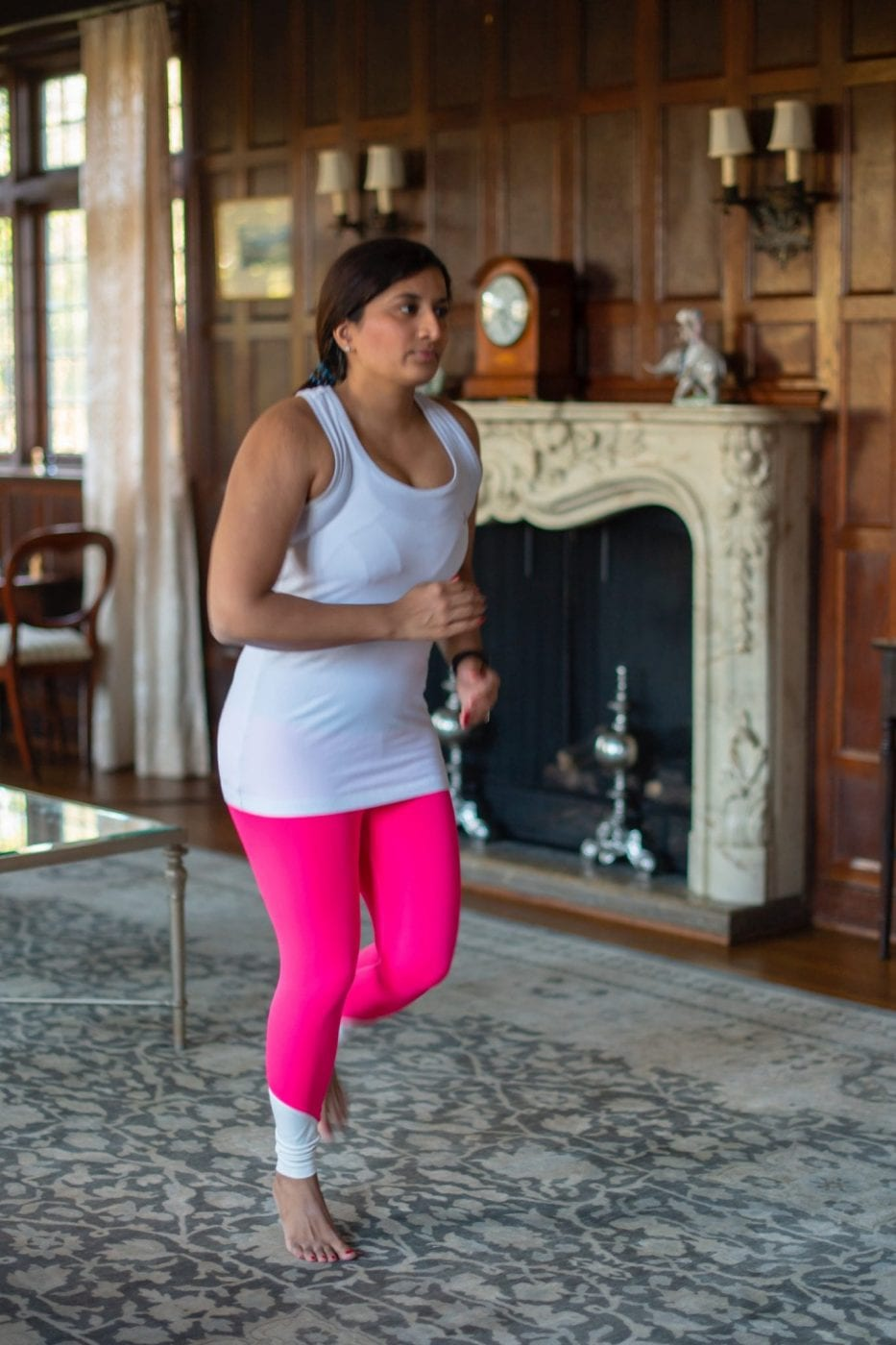 Working out at Home with Jane Do