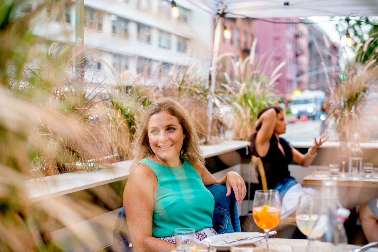 Outdoor Dining in the West Village